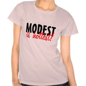 modest is hottest